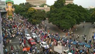 Khairatabad Ganesh Shobha Yatra Started