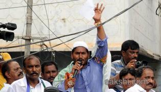 ys jagan mohan reddy road show in nandyal - Sakshi