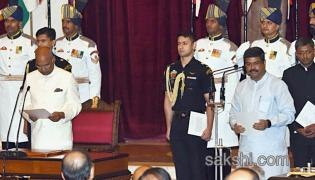 cabinet reshuffle new ministers take oath