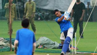 india team practice session in Bangalore