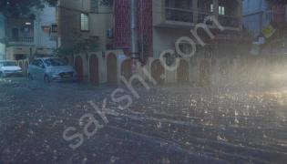 heavy rain lashes Hyderabad
