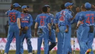 India post first ever win vs New Zealand in T20 - Sakshi