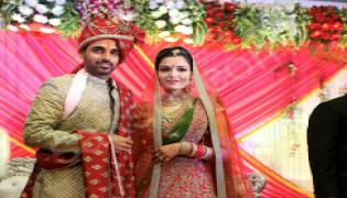 Bhuvneshwar Kumar married to his girl friend in Meerut - Sakshi - Sakshi