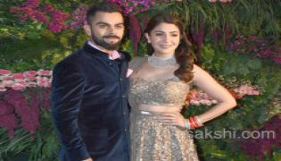 Virat and Anushka's Mumbai reception - Sakshi