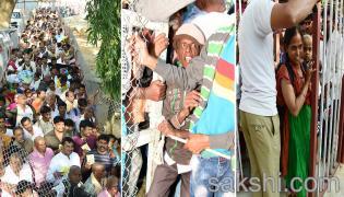 heavy rush pilgrims tirumala - Sakshi