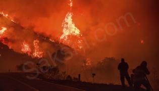 California Wildfires - Sakshi