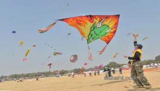 Telangana International Kite Festival - Sakshi