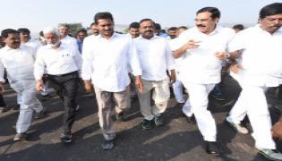 YS Jagan 68th Day PrajaSankalpaYatra Begins - Sakshi