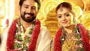 Malayalam actor Bhavana gets married to Kannada producer Naveen - Sakshi