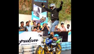 Bajaj Pulsar Festival Of Speed Season - Sakshi