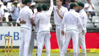 South Africa vs India Cricket first test  - Sakshi