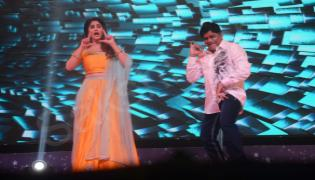 tollywood celebrities at star night program - Sakshi