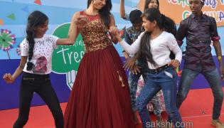 Teaching Tree Carnival in Actress Sanjana - Sakshi