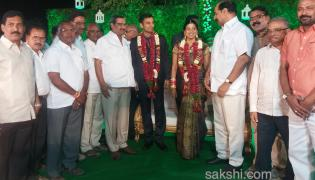 amrapalli weeding reception - Sakshi