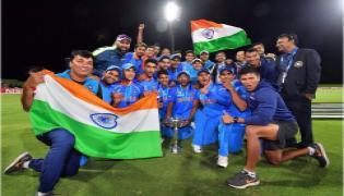 India Under-19 beat Australia Under-19 by 8 wickets - Sakshi