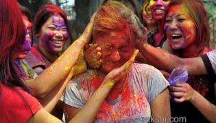 Holi Celebrations in India - Sakshi