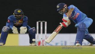 India Beat Sri Lanka by 6 Wickets in Nidahas Trophy - Sakshi