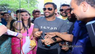 MS DHONI Opening his seven brand store in Bangalore - Sakshi