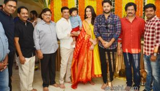 Nithin Srinivasa Kalyanam Movie Opening Photos - Sakshi