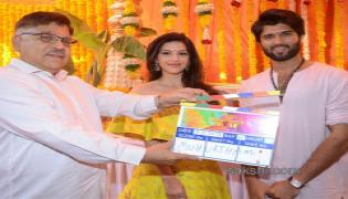 vijay devarakonda movie opening - Sakshi