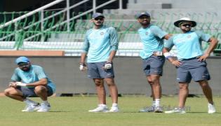 Team India's practice session in Sri Lanka - Sakshi