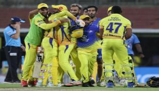 chennai super kings beat kkr-5 wickets  - Sakshi