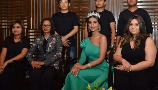 Pooja Bimrah Launch Zique Luxury Unisex Salon and Spa  - Sakshi