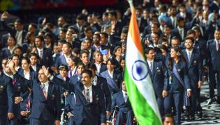 Opening ceremony of 2018 Commonwealth Games - Sakshi