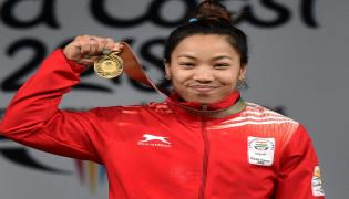 Weightlifter Mirabai Chanu wins gold medal in Commonwealth Games 2018 - Sakshi
