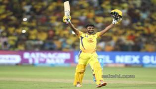 csk beat sunrisers 8 wickets - Sakshi