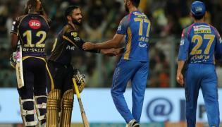 KKR Beat Rajasthan By 6 Wickets - Sakshi