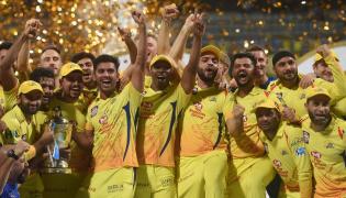 CSK vs SRH to win third IPL title photo gallery - Sakshi