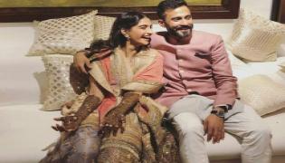 Sonam Kapoor and Anand Ahuja Mehendi Celebrations - Sakshi