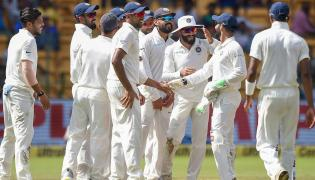Indian vs Afghanistan Test match Photo Gallery - Sakshi