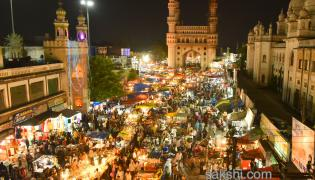 charminar night bazaar Photo Gallery - Sakshi