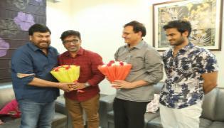 Sammohanam Team Celebrates Success with Megastar Chiranjeevi  Photo Gallery - Sakshi