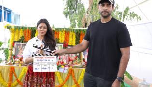 Shriya Saran New Movie Opening Photo Gallery - Sakshi
