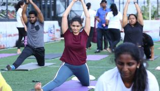 Yoga Classes in Begumpet lifestyle Photo Gallery  - Sakshi