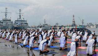 International Yoga Day 2018 Photo Gallery - Sakshi