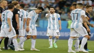 FIFA World Cup 2018 Croatia and Argentina Match Photo Gallery - Sakshi