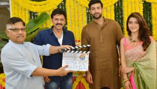 Venkatesh and Varun Tej F2 Movie Launch Photo Gallery - Sakshi