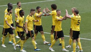 Belgium and Tunisia match Photo Gallery - Sakshi