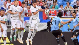 FIFA World Cup 2018 Uruguay vs Russia Match Photo Gallery - Sakshi