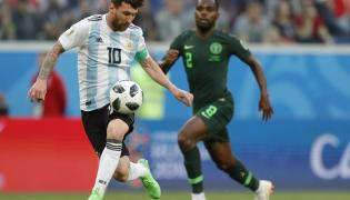 FIFA World Cup 2018 Argentina vs Nigeria Photo Gallery - Sakshi