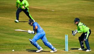 India Beat Ireland by 76 Runs in 1st T20I Photo Gallery - Sakshi