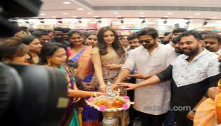 Sai Dharam Tej  and Catherine Tresa launches KLM Fashion Mall Photo Gallery - Sakshi