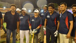 Hyderabad Police League Vs Celebrity Cricket League Photo Gallery - Sakshi