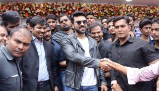Ram Charan launches Happi Mobile Store in Chandanagar Photo Gallery - Sakshi