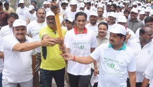 P V Sindhu Participates In 2k Run Photo Gallery - Sakshi
