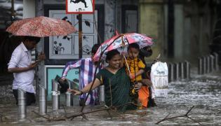 Heavy rains in mumbai Photo Gallery - Sakshi